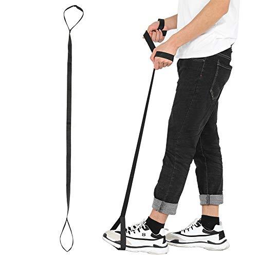 Levantador de piernas y pies de nailon para personas con movilidad limitada para rehabilitación