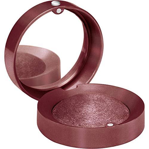 Bourjois Ombre à Paupières Petite Boîte Ronde Facile à Appliquer/Miroir Intégré Texture Poudre Crémeuse 12 Clair de Plum