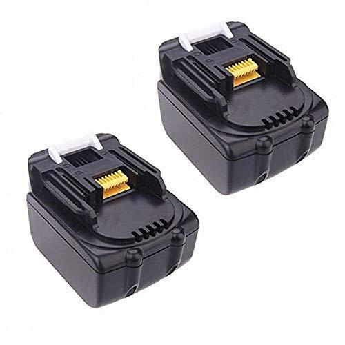 bouyi–2x 14.4V Herramientas batería de ion de litio de 3Ah, 3000mAh para MAKITA BL1430194066–1BL1415(LG cabina)