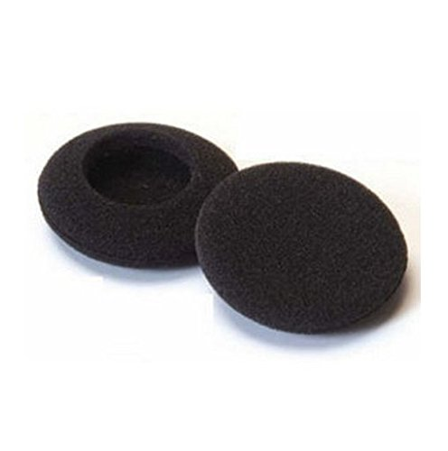 Earpads Foam Cushions Replacement 4 PACK for Sennheiser - Sony - Plantronics - Panasonic - Philips - Logitec - Creative - Koss - Will Fit Most Headphones (60mm - 2.4') from Gadget Zoo