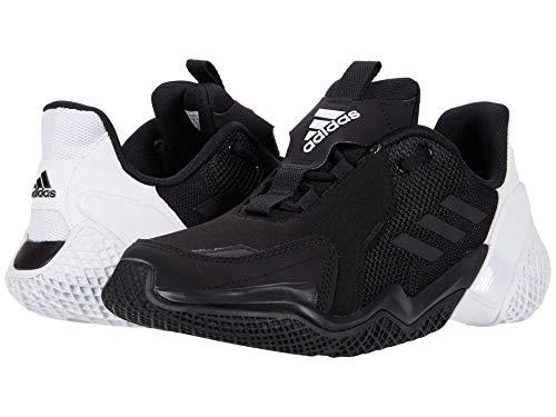 adidas unisex-adult 4uture Runner , White/Black/White, 4.5 Big Kid