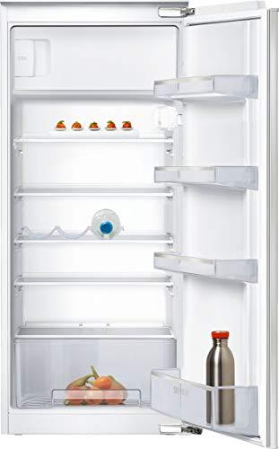 Siemens Nevera empotrable KI24LNFF1 iQ100 con congelador, A++, 174 kWh/año, 200 l, freshBox, iluminación LED, estantes de cristal de seguridad.