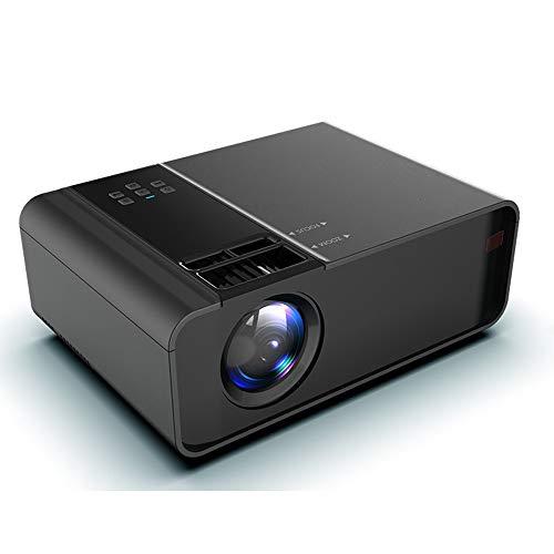 GWX Smart-projector Ai, mobiele telefoon met directe verbinding WiFi Full HD 1080p met hetzelfde scherm 4000 lumen VGA/HDMI/Dual USB/AV