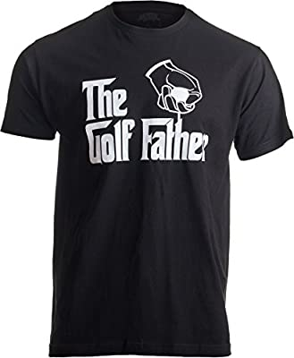 The Golf Father   Funny Saying Golfing Shirt, Golfer Ball Humor for Men T-Shirt-(Adult,2XL) Black