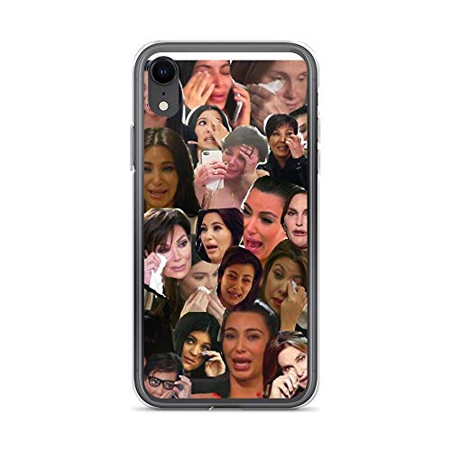 iPhone XR Pure Clear Case Cases Cover Kardashian's Crying Collage