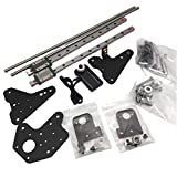 WANGYOUCAO 1set Simple BLV Dual Z axis Single NEMA17 Motor MGN12H Linear Rail mod kit for Creality Ender 3 Pro 3D Printing Accessories (Color : with Hiwini Rail)