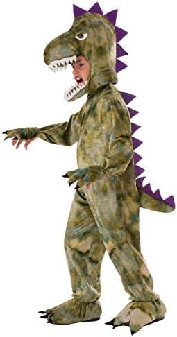 Forum Novelties Kids Dinosaur Costume, Green, Large
