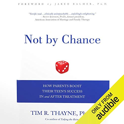 Not by Chance audiobook cover art