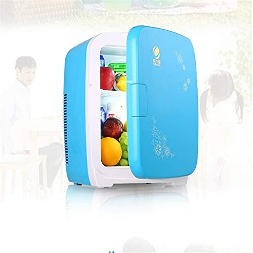 FDGSD Frigorifero Domestico per Auto Mini Frigorifero, frigo termoelettrico, congelatore Portatile a compressore per Picnic Esterno 15L (Colore: Blu)
