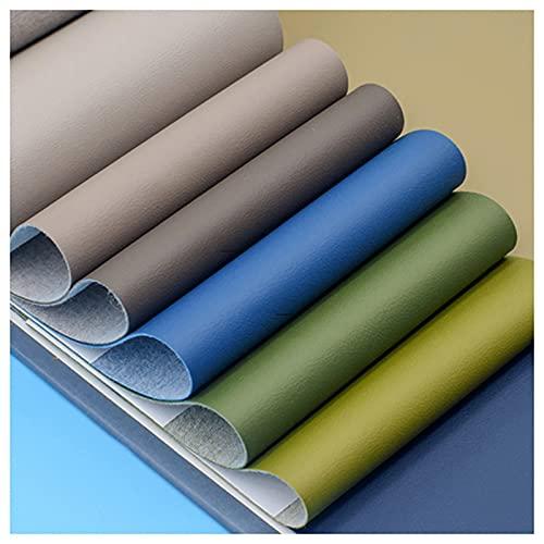 telas para tapizar sillas 7 Piezas De Traje De Tela De Cuero Artificial Tela Por Metro, Multicolor Y De Varios Tamaños Kit Práctico De Bricolaje Manual De Combinación (Size:1.37M*2M,Color:Color 77#)