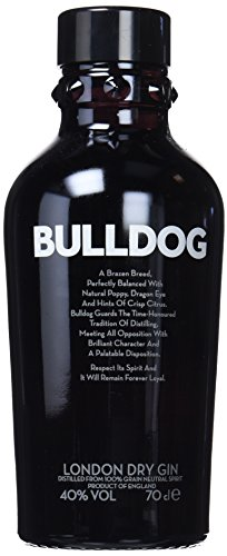 Bulldog - Ginebra 0,7 L 40°, 700 ml