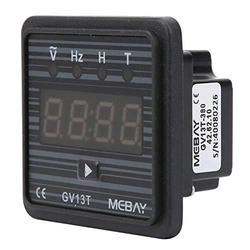 Voltímetro Digital Ca 220 V / 380 V, Medidor de Frecuencia, Medidor de Voltaje de Montaje En Panel de Ca, Temporizador de Generador Para Uso Industrial(Ac 380V)