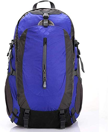 tgbnh Backpack,Hiking Backpack Packable Backpack Hiking Daypack Backpack Unisex Outdoor Travel Sports Backpack Color Blue 50L (Color : Default)