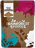 Rainforest Foods 7 Pilz Pulver Mischung Bio 400g, Reishi, Chaga, Shiitake, Maitake, Löwenmähne, Cordyceps & Tremella