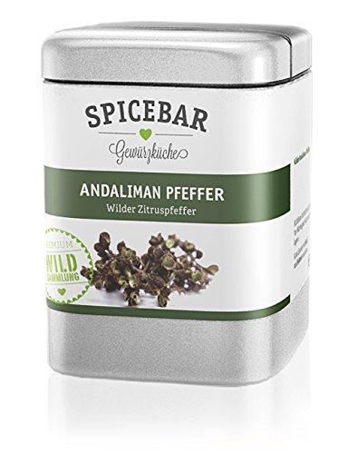 Spicebar Wilder Andaliman Pfeffer aus Sumatra, Zitronig bitzelnd (1 x 25g)
