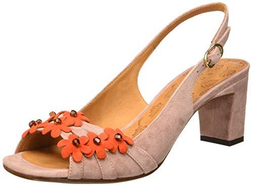 Chie Mihara Damen Lorea Slingback Sandalen, Pink Ante Russo Vintage, 41 EU