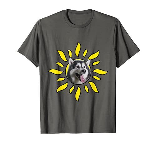 Sol Alaska Malamute Camiseta
