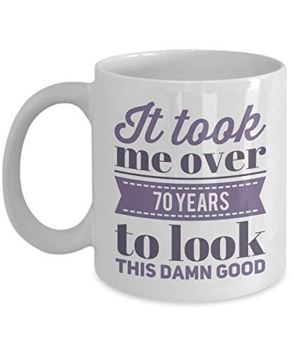 N\A Taza Divertida de la Novedad Me tomó más de 30 años Mirar Esta Taza de Regalo de cumpleaños malditamente Buena
