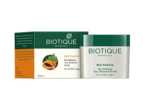 Biotique Papaya Revitalizing Tan-Removal Scrub
