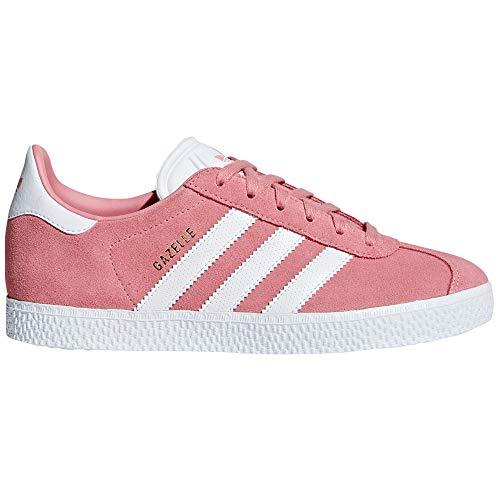 adidas Gazelle Zapatillas Deportivas para Mujer Negras, Marino, Rosas. Sneaker Tenis (36 2/3 EU, Tactile Rose/White)