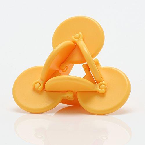 PlayableART OSM – Forever Turning Kinetische Skulptur, in Geschenkverpackung, Gelb