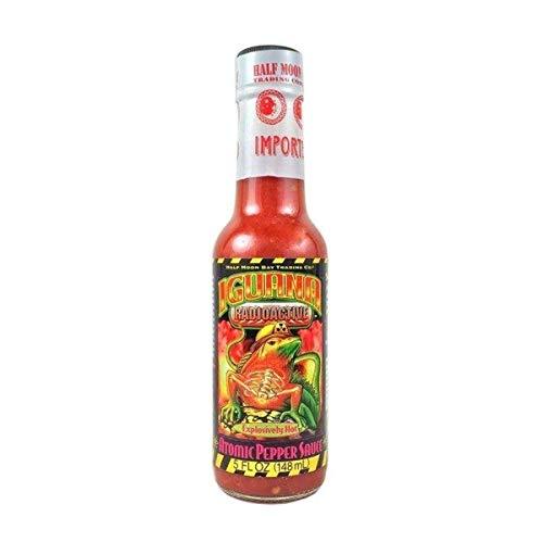 Iguana Hot Sauce, Radioactive Atomic Pepper, 5 fl oz