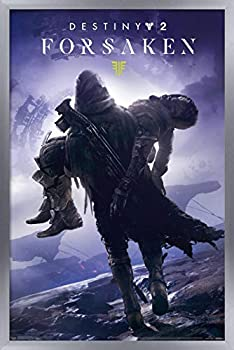 Trends International Destiny 2  Forsaken - Key Art Wall Poster 14.725  x 22.375  Silver Framed Version