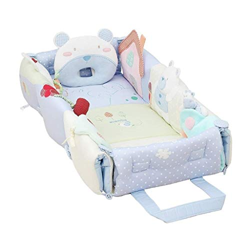 Best Prices! HLR-Travel Beds Travel Cots Crib Baby Bassinet Cuddle Nest for Bed Game Bed Portable Fo...