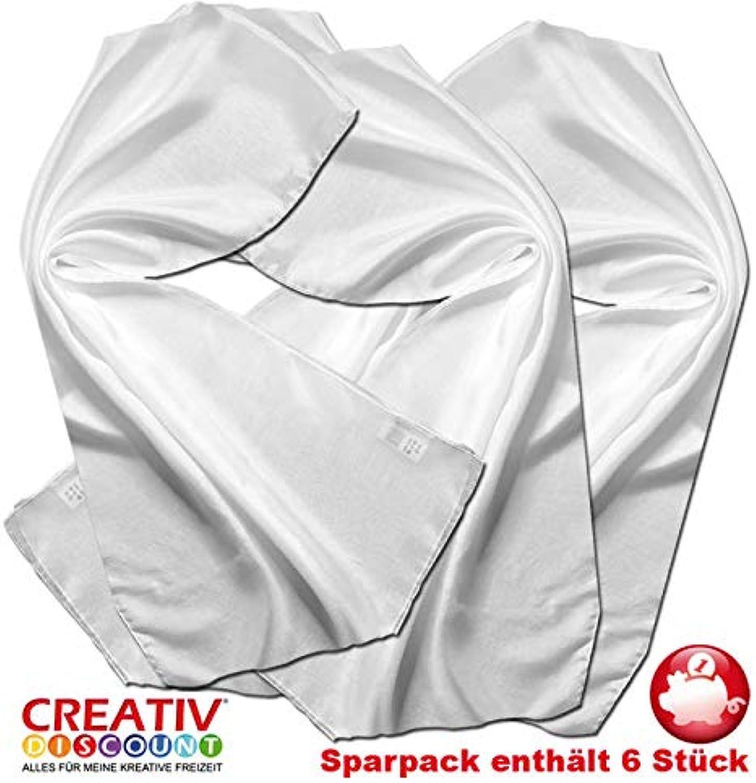 Creative Discount Seiden-Schal Sparpack, Pongé 05, 6 Stück B07JMCFWC9 | Günstigstes