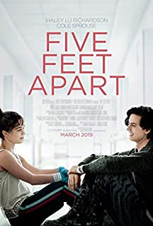 FIVE FEET APART (2019) Original Authentic Movie Poster 27x40 - Double - Sided - Haley Lu Richardson - Cole Sprouse