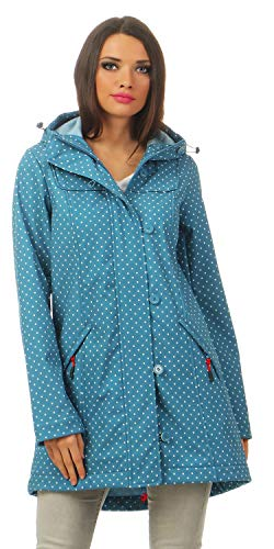 Blutsgeschwister Wild Weather Long Softshell-Anorak - L