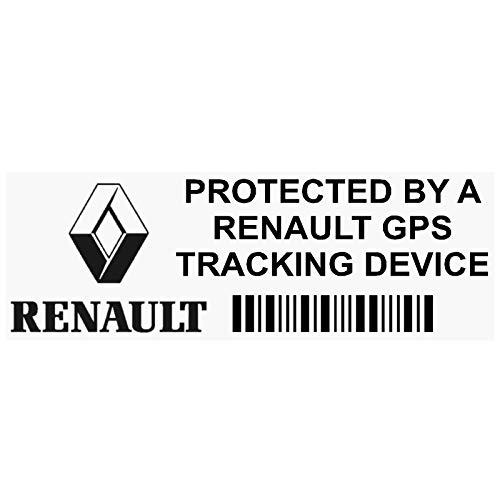 5x pprenaultgpsblk GPS negro dispositivo de seguimiento de seguridad ventana pegatinas 87x 30mm-car, Van alarma Tracker