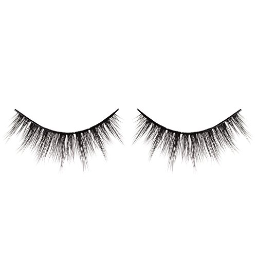 EYERÍS BEAUTY 3D Faux Silk Eyelash in style EMPRESS, Double-Stacked, Flexible, Cruelty-Free, Fur-Free, Vegan, Reusable up to 20 times