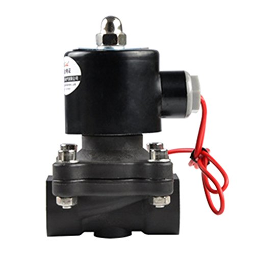 H HILABEE Válvula Solenoide Eléctrica para Agua, Aire, Aceite, Combustibles, Normalmente Cerrados,...