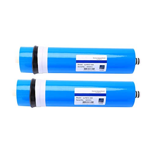 Andifany 2 StüCke 400 GPD Umkehrosmose Filter Umkehrosmose Membran ULP3013-400 Membran Wasser Filter RO System Filter Membran