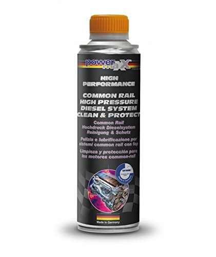 Powermaxx Diesel Fuel System Cleaner Common-Rail ad alta pressione Diesel Engine Additive & Protect 375 ml