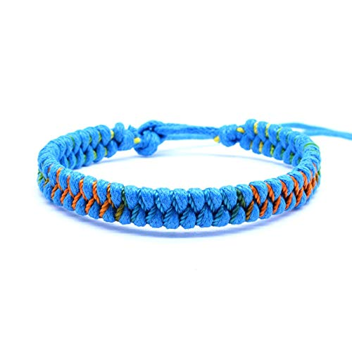 Jewellery Bracelets Bangle For Men Hand-Woven Lace Up Flag Color For Men And Women Couples Bracelet Sports Fans Jewelry R3