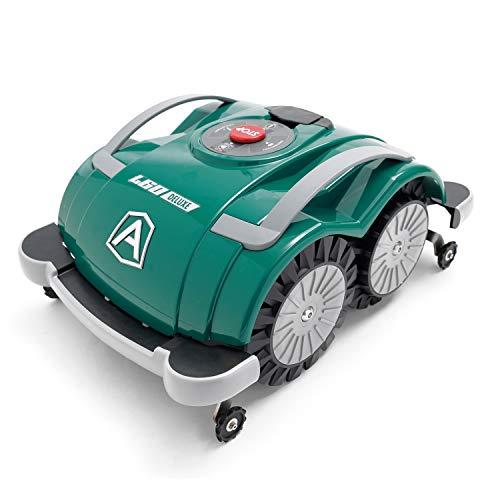 Ambrogio Robotmaaier, model: L60 Deluxe, eenvoudig te bedienen, zonder installatie en zonder begrenzingskabel voor kleine tuinen