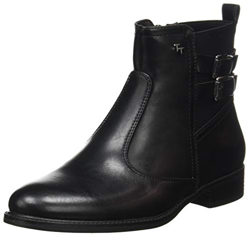 Tom Tailor Womens 9094201 Ankle Boot Bootie Boot, Black, 37 EU