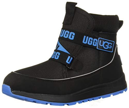 UGG Kids' Tabor Wp Boot, Black, 6 M US Big Kid