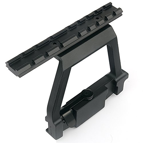 UniqueFire Metal Side Top Rail Scope Mount Base for 20mm...
