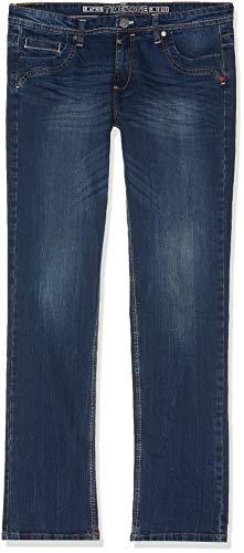 Timezone Damen TahilaTZ Straight Jean, Blau (Surfer Wash 3385), W27/L34 (Herstellergröße: 27/34)
