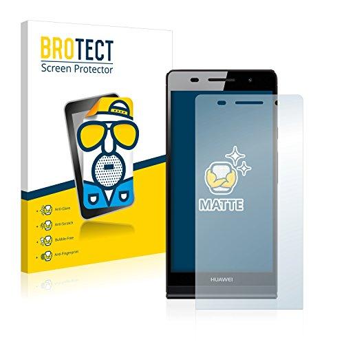 BROTECT 2X Entspiegelungs-Schutzfolie kompatibel mit Huawei Ascend P6 Bildschirmschutz-Folie Matt, Anti-Reflex, Anti-Fingerprint