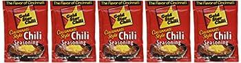 6 Pack Gold Star Cincinnati Style Original Chili Seasoning