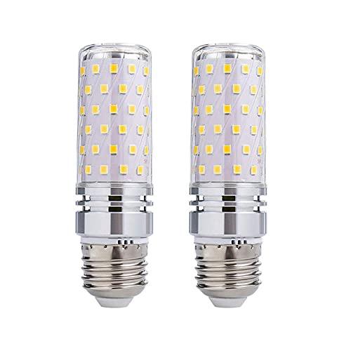 ACXLONG Bombilla de vela LED con base E27, equivalente a 16 W, bombillas de lámpara incandescente halógena de 160 W, 1600 lúmenes, AC110 V, 230 V, no regulable para mesa de pared, paquete de 2
