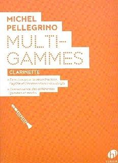 Multi-Gammes (Clarinet Study Score)