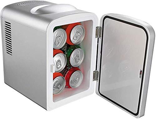 Kühl- / Gefrierkombination Mini-Kühlschrank Auto Mobiler Mini-Kühlschrank mit Heizfunktion 4 Liter 12 und 230 V Standardkühlschrank