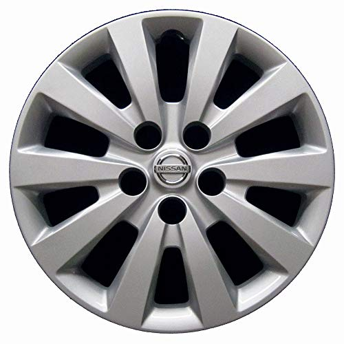 Genuine OEM Wheel Cover | Fits 2013-2017 Nissan Sentra | Professionally Reconditioned-Like New | 16-inch Factory Replacement Wheel Cover | 53089