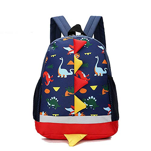 Dinosaurios Mochila para niños, Guarderia Mochila Escolar, Primaria pequeña Guardería Mochila Preescolar para niños