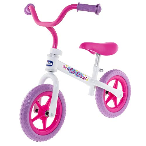 Chicco First Bike - Bicicleta Sin Pedales Con Sillín y Manillar Regulable,...